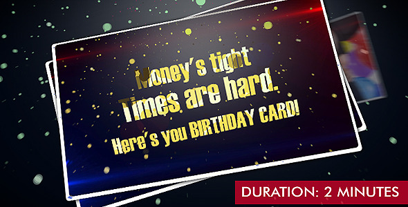 After Effects Project - VideoHive Best Birthday Gift 515279
