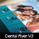 Medical Dental Flyer v3 - GraphicRiver Item for Sale