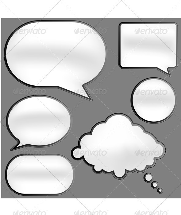 GraphicRiver Speech Bubbles 516160