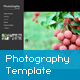 The Resizable Flash Photography Template - ActiveDen Item for Sale