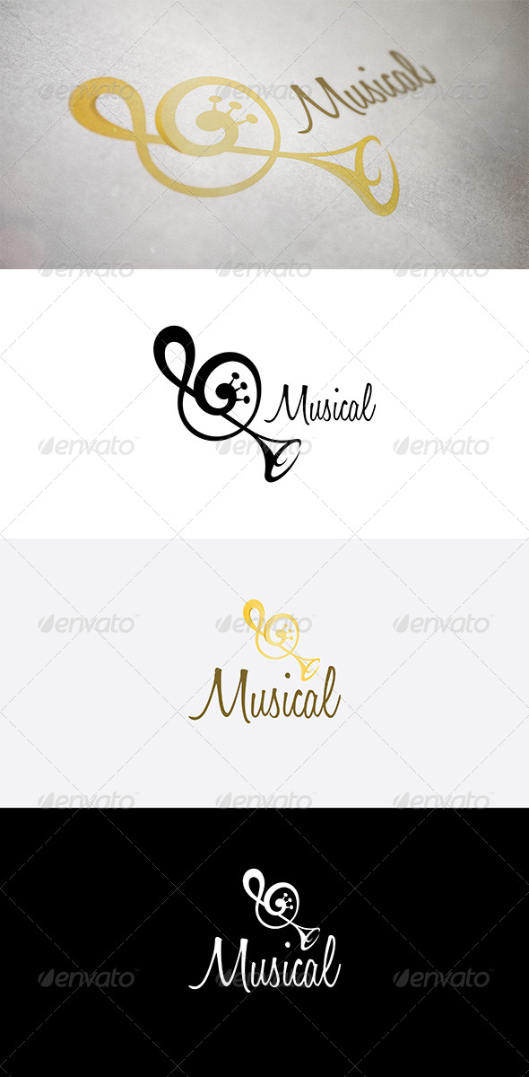 GraphicRiver Abstract Music Symbol 5015972