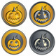 Vector set of coins on Halloween - GraphicRiver Item for Sale