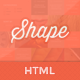 Shape - Professional HTML Photography Theme - ThemeForest Item for Sale