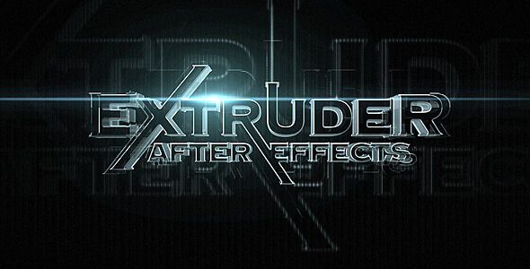 After Effects Project - VideoHive Extruder 518013