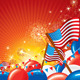 American Celebration Vector Background - GraphicRiver Item for Sale