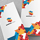 Geometric Trifold - GraphicRiver Item for Sale