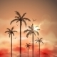 Tropical Landscape with Palm Trees - GraphicRiver Item for Sale