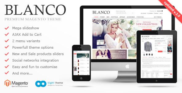 Blanco Responsive Themeforest Magento Theme Free Download (Magento