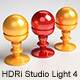 HDRi Studio Light 4 - Squared Softboxes - 3DOcean Item for Sale