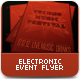 Electronic Event Flyer Poster Template - GraphicRiver Item for Sale