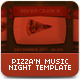 Pizza N' Music Night Template - GraphicRiver Item for Sale