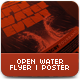 Open Water Flyer - GraphicRiver Item for Sale