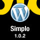 Simplo - Responsive WordPress Blog / Personal - ThemeForest Item for Sale