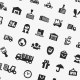97 Logistic and Shipping Custom Shape Icons - GraphicRiver Item for Sale