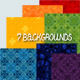 Set of Seven Backgrounds - GraphicRiver Item for Sale