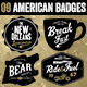 American Vintage Badges - GraphicRiver Item for Sale