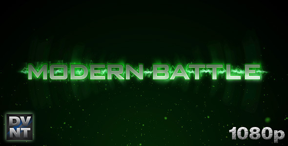 After Effects Project - VideoHive Modern Battle Logo Stinger 521029