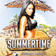 Summertime v.2 - Flyer Template - GraphicRiver Item for Sale