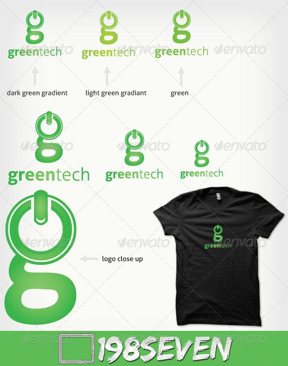 Graphic River Greentech Logo Templates -  Symbols 521516