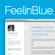 FeelinBlue - Clean Tumblr Blogging Theme - ThemeForest Item for Sale