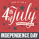 4th of July BBQ Party Invitation - GraphicRiver Item for Sale