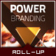 Corporate Roll-up Banner - Power Triangle - GraphicRiver Item for Sale
