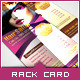 Corporate Rack Card - Beauty Salon - GraphicRiver Item for Sale