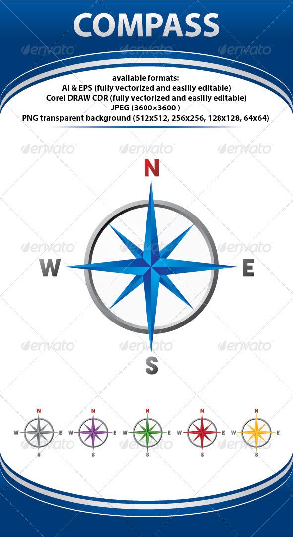 GraphicRiver Compass 74451