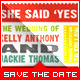 Wedding - Save The Date - Typography II - GraphicRiver Item for Sale