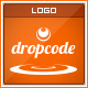 Drop Code - Coding/Scripting - Logo - GraphicRiver Item for Sale