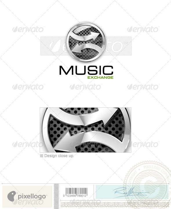 GraphicRiver Activities & Leisure Logo 3D-608 524564
