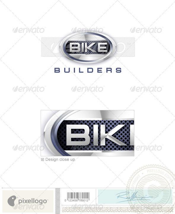 GraphicRiver Transport Logo 3D-49 524585