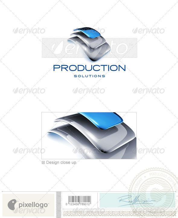 GraphicRiver Business Logo 3D-725 524591