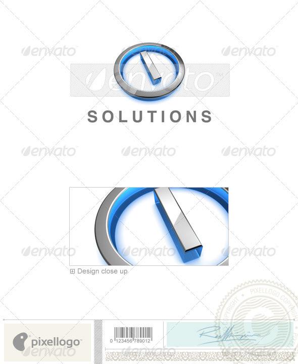 GraphicRiver I Logo 3D-683-I 524611