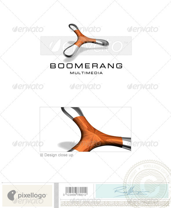 GraphicRiver Technology Logo 3D-548 524642