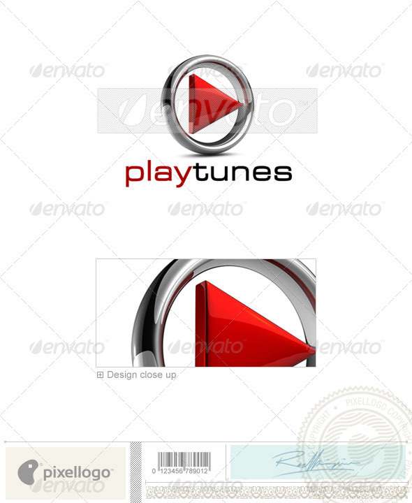 GraphicRiver Activities & Leisure Logo 3D-576 524650