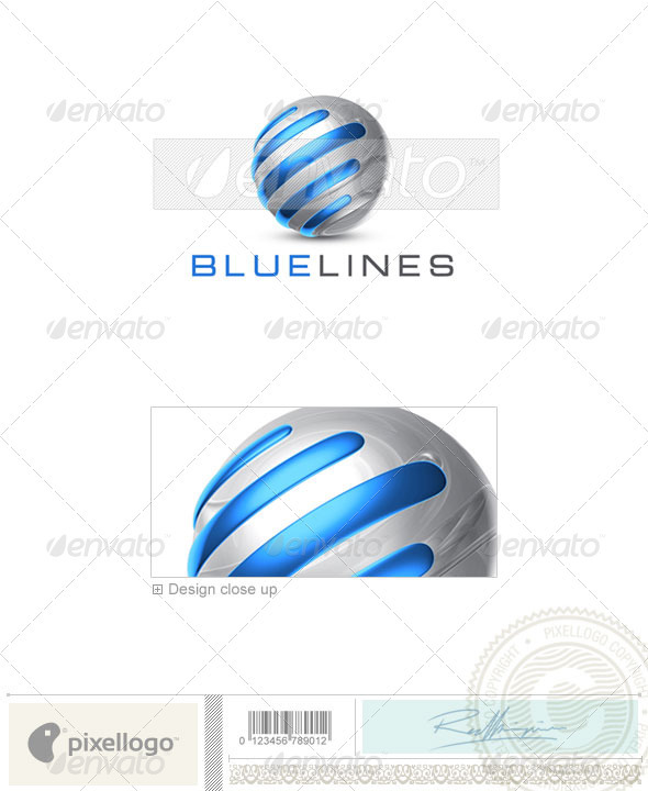 GraphicRiver Technology Logo 3D-706 524659