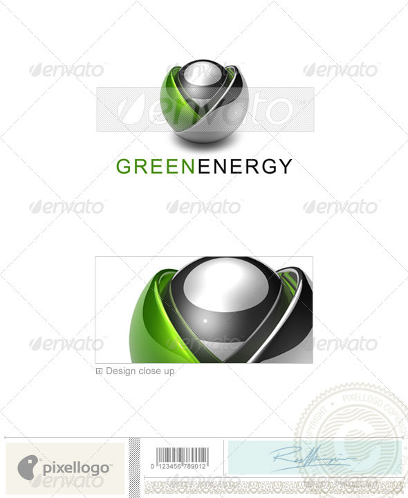 GraphicRiver Technology Logo 3D-593 524677
