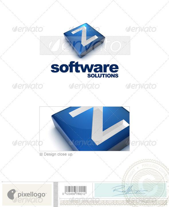 GraphicRiver Z Logo 3D-644-Z 524679
