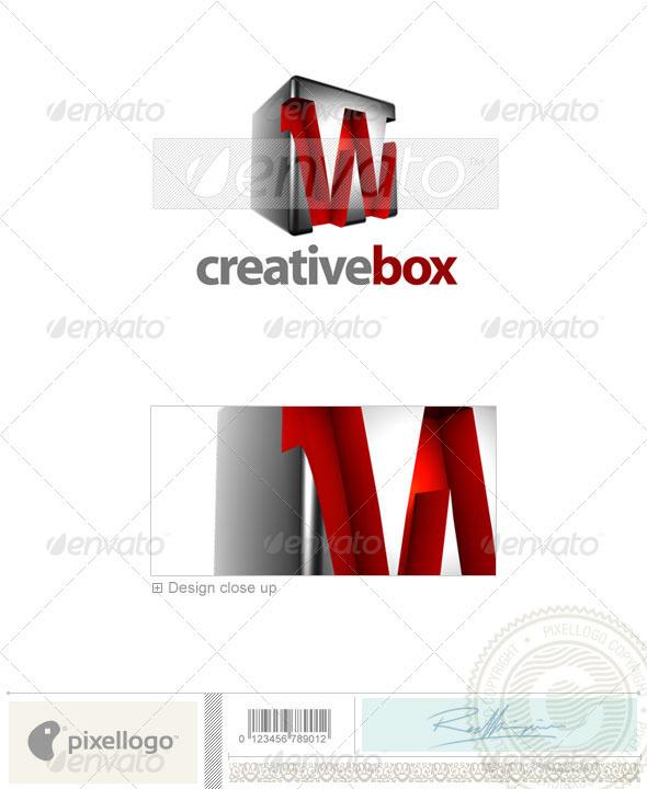 GraphicRiver W Logo 3D-554-W 524682