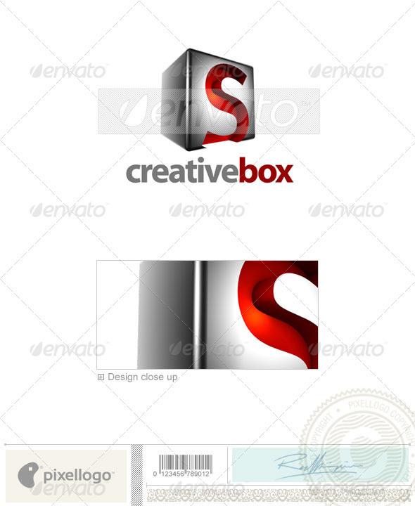 GraphicRiver S Logo 3D-554-S 524708