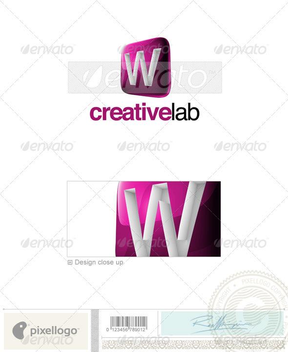 GraphicRiver W Logo 3D-687-W 524728