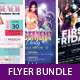 Party Flyer Template Bundle - GraphicRiver Item for Sale