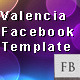 Valencia Facebook template - ActiveDen Item for Sale