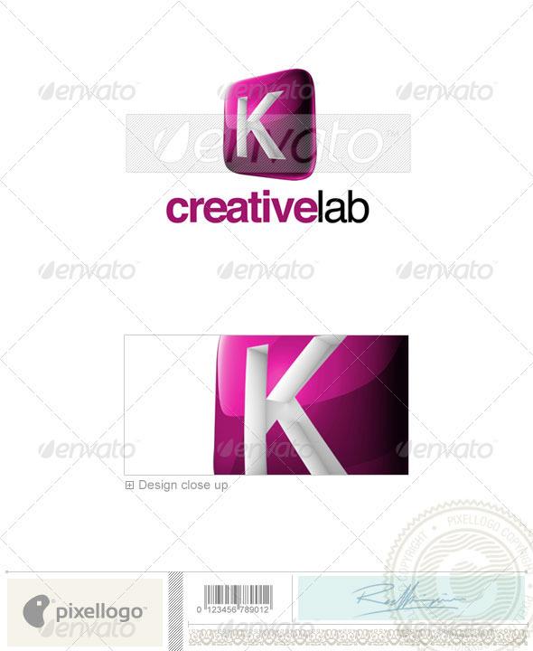 GraphicRiver K Logo 3D-687-K 526460