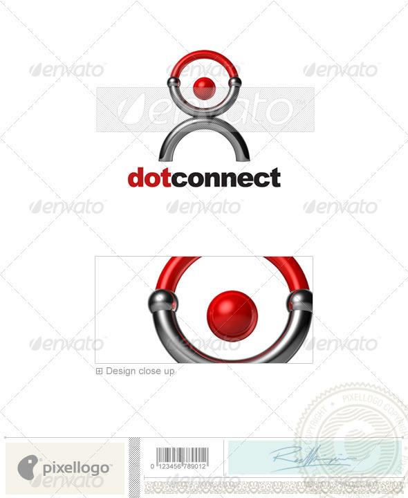 GraphicRiver Communications Logo 3D-587 526469