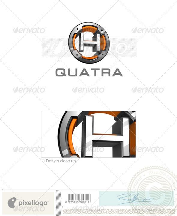GraphicRiver H Logo 3D-494-H 526471