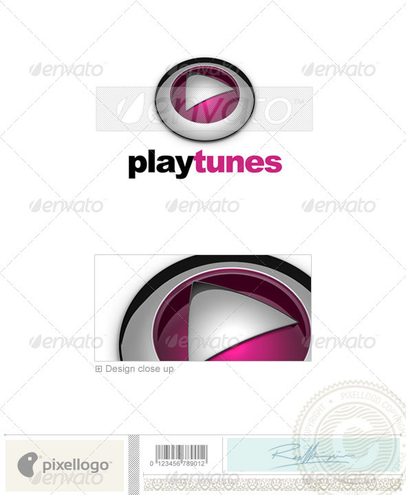 GraphicRiver Activities & Leisure Logo 3D-574 526474