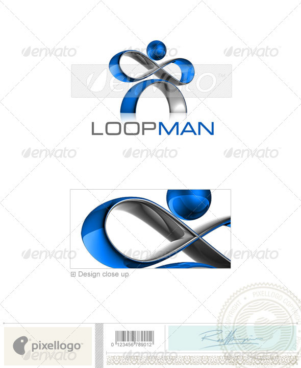 GraphicRiver Technology Logo 3D-514 526481