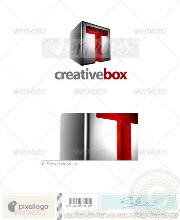 GraphicRiver T Logo 3D-554-T 526492